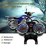KKmoon TNR4984351399960RH Digital Backlight Motorcycle Odometer Tachometer Speedometer Gauge
