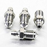 Stainless Steel Bleed Nipple M10 Clutch x4