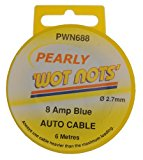 Pearl PWN688 8A x 6m Wiring Cable - Blue