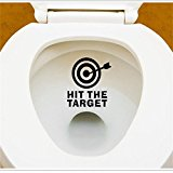 Decorie DIY Arrow & Target Design Wall Sticker for Home Toilet Refrigerator Decor