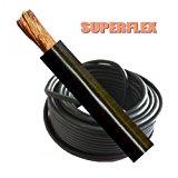 Welding Cable Battery Earth 290 Amp 35mm Black Flexible Per Meter Mig Arc Welder