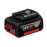Bosch Professional Lithium-Ion Cordless CoolPack Battery, 18 V/4.0 Ah