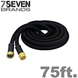 The Best Expandable Garden Hose 50ft . The Strongest Garden Hose on amazon! Super strong! Will never leak. Indestructible Triple Layered Latex Core with Hardened Plastic Connectors. No kink flexible MAGIC HOSE.