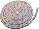 HIGH DENSITY 3.5MM x 2M Recoil pull cord starter rope for all petrol lawnmower enignes INC Hover mowers