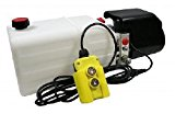 Flowfit 12VDC Single Acting Hydraulic Power pack with 8L Tank ZZ003834
