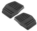 2 x couvre-pédale Rubber Brake Clutch Pedal Cover Set for Ford Focus