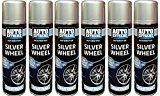 Silver Wheel Spray Paint Aerosol Can Auto Extreme Car Van Bike Can of 250ml New (6)