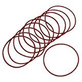 10 Pcs 70mmx2mm 70x2mm Mechanical Rubber O Ring Oil Seal Gaskets Red